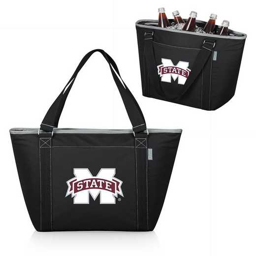 619-00-175-384-0: Mississippi State Bulldogs - Topanga Cooler Tote (Black)