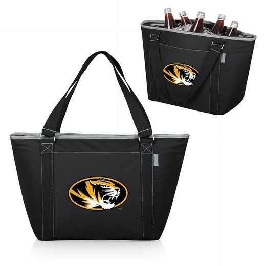 619-00-175-394-0: Mizzou Tigers - Topanga Cooler Tote (Black)