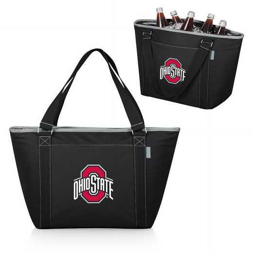 619-00-175-444-0: Ohio State Buckeyes - Topanga Cooler Tote (Black)