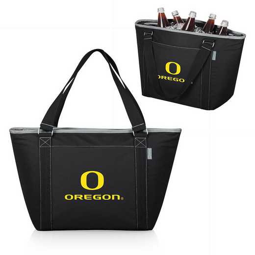 619-00-175-474-0: Oregon Ducks - Topanga Cooler Tote (Black)