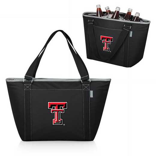 619-00-175-574-0: Texas Tech Red Raiders - Topanga Cooler Tote (Black)