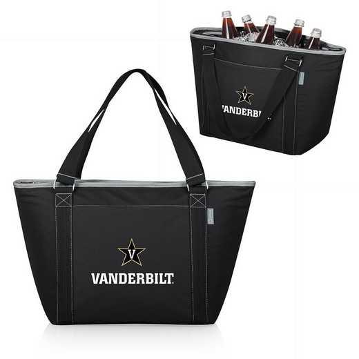 619-00-175-584-0: Vanderbilt Commodores - Topanga Cooler Tote (Black)
