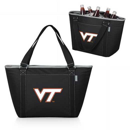 619-00-175-604-0: Virginia Tech Hokies - Topanga Cooler Tote (Black)