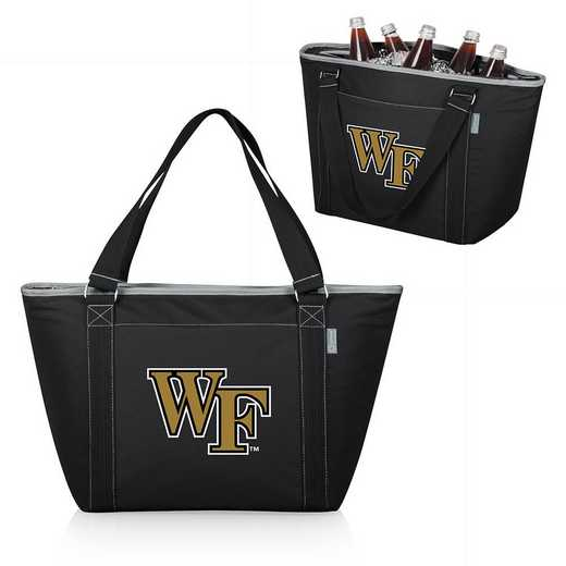619-00-175-614-0: Wake Forest Demon Deacons - Topanga Cooler Tote (Black)