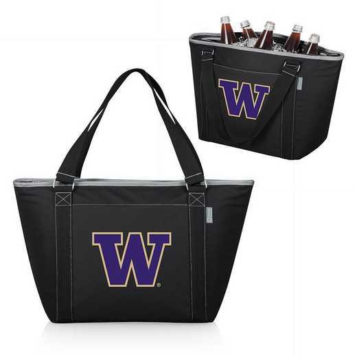 619-00-175-624-0: Washington Huskies - Topanga Cooler Tote (Black)