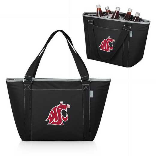 619-00-175-634-0: Washington State Cougars - Topanga Cooler Tote (Black)