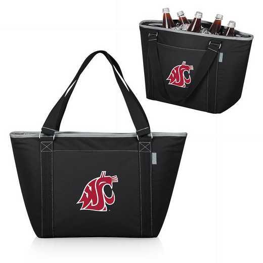 619-00-175-634-0: Washington State Cougars - Topanga Cooler Tote (Black)
