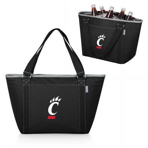 619-00-175-664-0: Cincinnati Bearcats - Topanga Cooler Tote (Black)