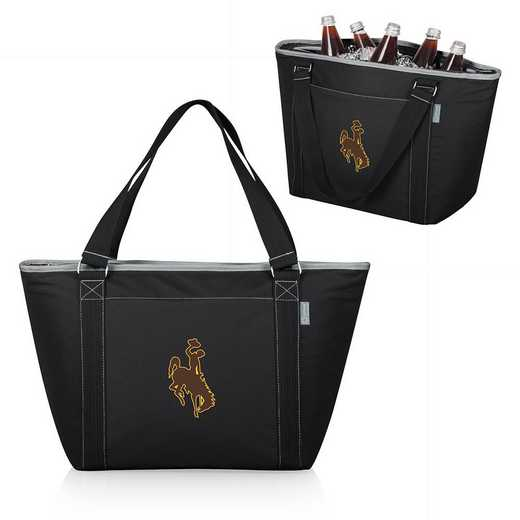 619-00-175-694-0: Wyoming Cowboys - Topanga Cooler Tote (Black)