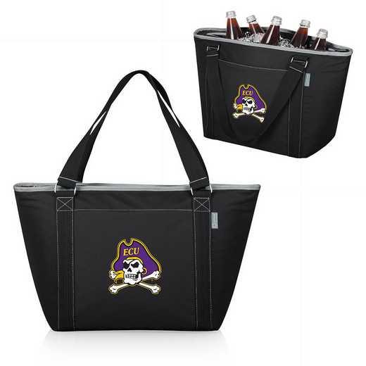 619-00-175-874-0: East Carolina Pirates - Topanga Cooler Tote (Black)
