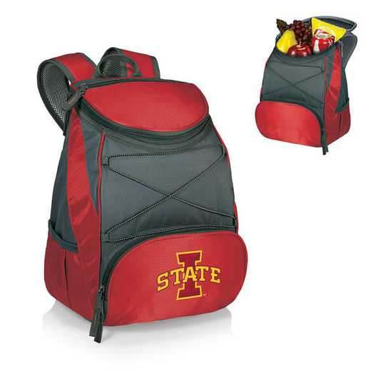633-00-100-234-0: Iowa State Cyclones - PTX Backpack Cooler (Red)