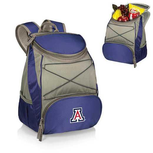 633-00-138-014-0: Arizona Wildcats - PTX Backpack Cooler (Navy)