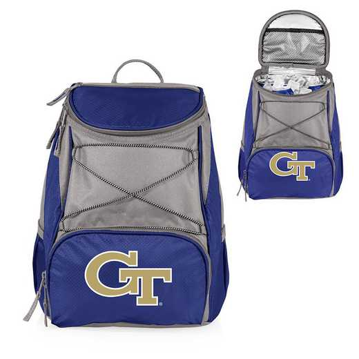633-00-138-194-0: Georgia Tech Yellow Jackets - PTX Backpack Cooler (Navy)