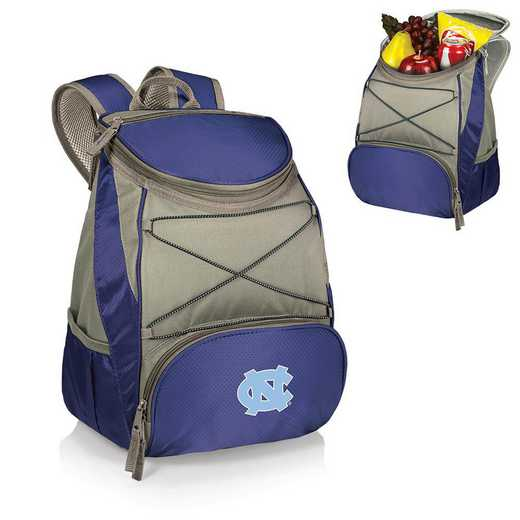 633-00-138-414-0: North Carolina Tar Heels - PTX Backpack Cooler (Navy)