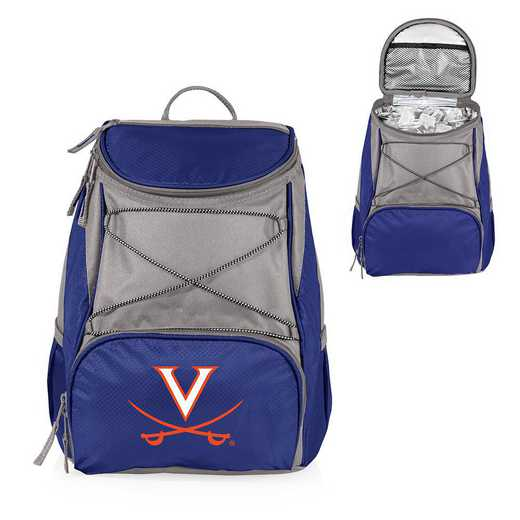 633-00-138-594-0: Virginia Cavaliers - PTX Backpack Cooler (Navy)