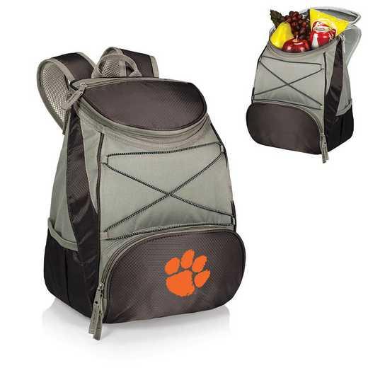 633-00-175-104-0: Clemson Tigers - PTX Backpack Cooler (Black)