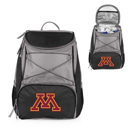 633-00-175-364-0: Minnesota Golden Gophers - PTX Backpack Cooler (Black)
