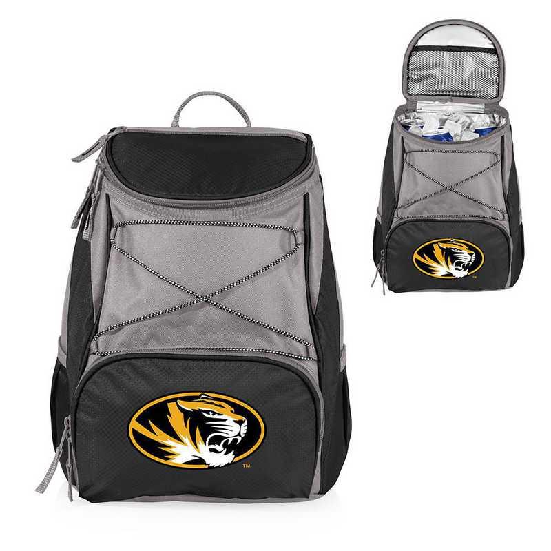 633-00-175-394-0: Mizzou Tigers - PTX Backpack Cooler (Black)