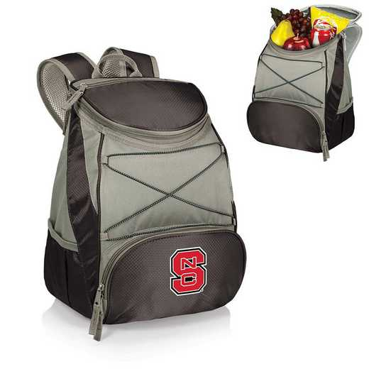 633-00-175-424-0: NC State Wolfpack - PTX Backpack Cooler (Black)