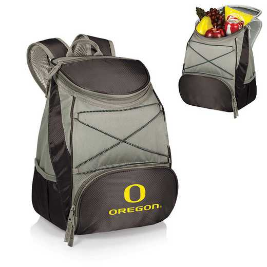 633-00-175-474-0: Oregon Ducks - PTX Backpack Cooler (Black)