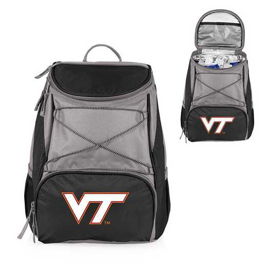 633-00-175-604-0: Virginia Tech Hokies - PTX Backpack Cooler (Black)