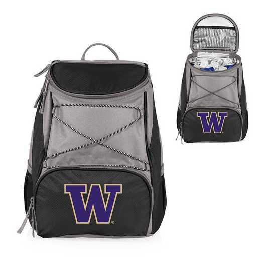 633-00-175-624-0: Washington Huskies - PTX Backpack Cooler (Black)