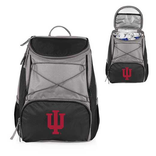 633-00-175-674-0: Indiana Hoosiers - PTX Backpack Cooler (Black)
