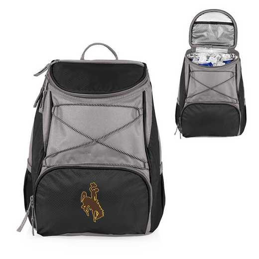 633-00-175-694-0: Wyoming Cowboys - PTX Backpack Cooler (Black)