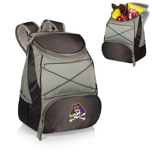 633-00-175-874-0: East Carolina Pirates - PTX Backpack Cooler (Black)