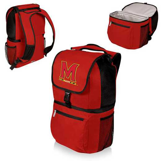 634-00-100-314-0: Maryland Terrapins - Zuma Cooler Backpack (Red)