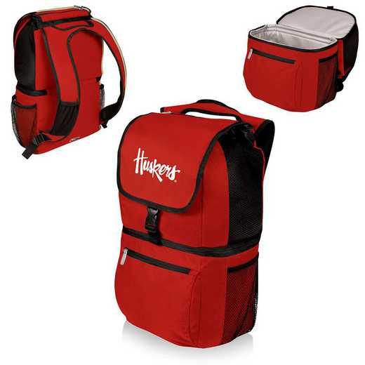 634-00-100-404-0: Nebraska Cornhuskers - Zuma Cooler Backpack (Red)