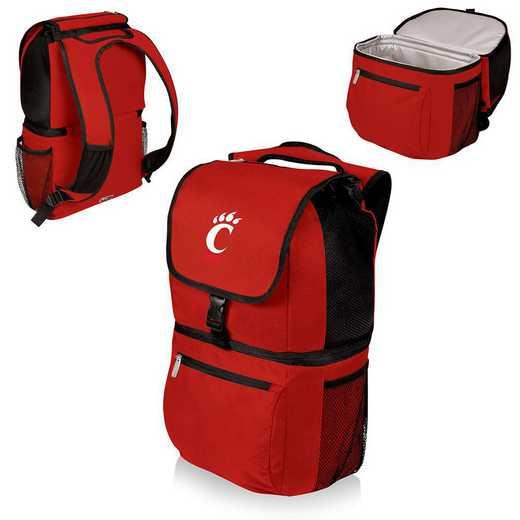 634-00-100-664-0: Cincinnati Bearcats - Zuma Cooler Backpack (Red)
