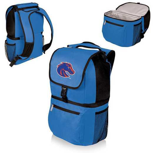 634-00-139-704-0: Boise State Broncos - Zuma Cooler Backpack (Blue)
