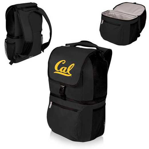 634-00-175-074-0: Cal Bears - Zuma Cooler Backpack (Black)