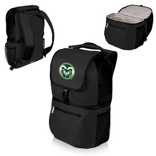 634-00-175-134-0: Colorado State Rams - Zuma Cooler Backpack (Black)