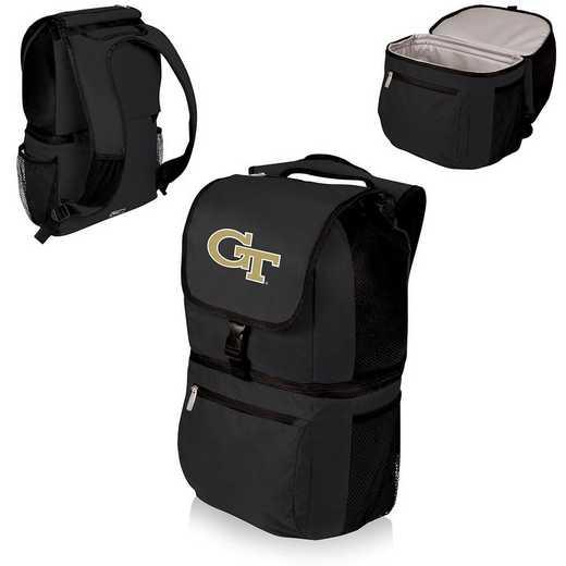 634-00-175-194-0: Georgia Tech Yellow Jackets - Zuma Cooler Backpack (Black)