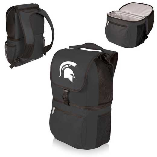 634-00-175-354-0: Michigan State Spartans - Zuma Cooler Backpack (Black)
