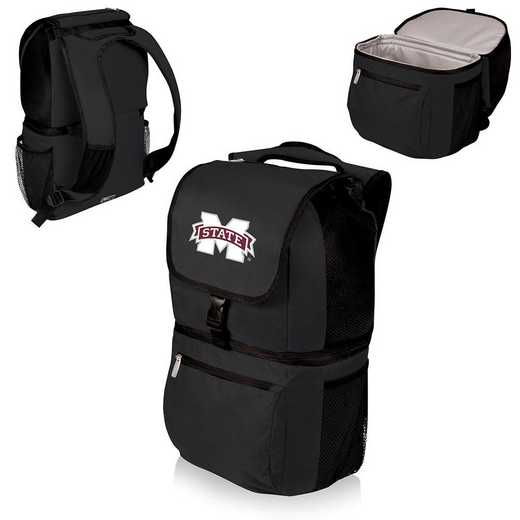 634-00-175-384-0: Mississippi State Bulldogs - Zuma Cooler Backpack (Black)