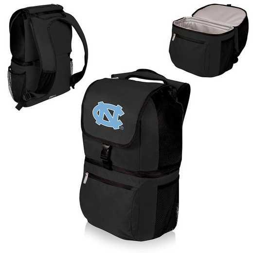 634-00-175-414-0: North Carolina Tar Heels - Zuma Cooler Backpack (Black)