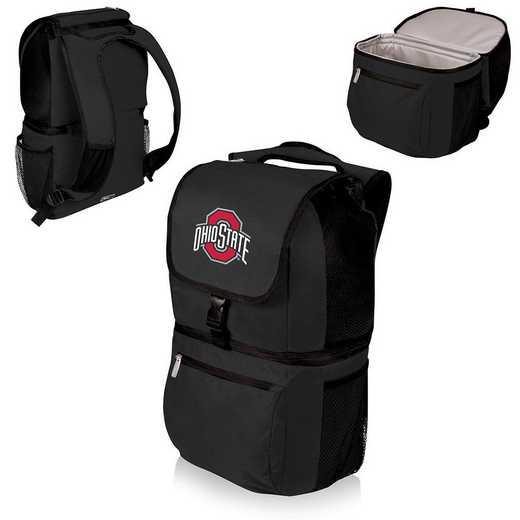 634-00-175-444-0: Ohio State Buckeyes - Zuma Cooler Backpack (Black)