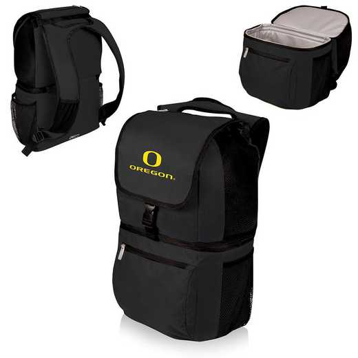 634-00-175-474-0: Oregon Ducks - Zuma Cooler Backpack (Black)