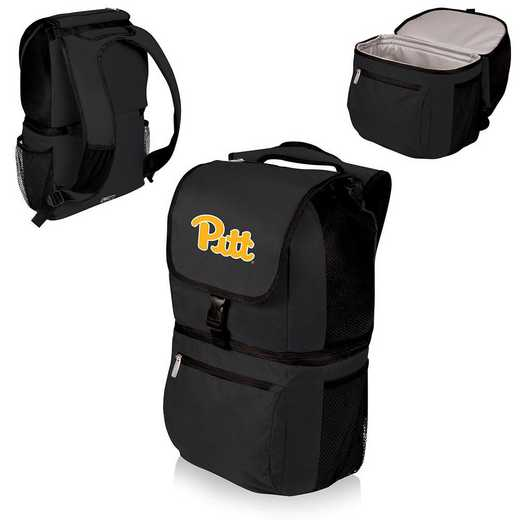 634-00-175-504-0: Pittsburgh Panthers - Zuma Cooler Backpack (Black)