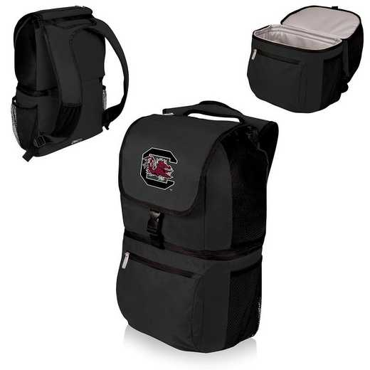 634-00-175-524-0: South Carolina Gamecocks - Zuma Cooler Backpack (Black)