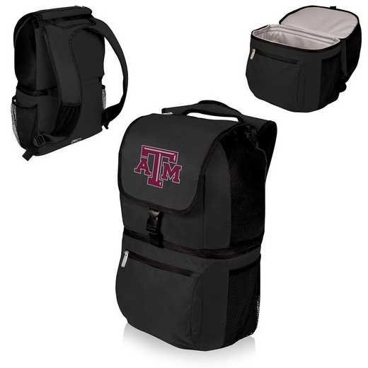 634-00-175-564-0: Texas A&M Aggies - Zuma Cooler Backpack (Black)