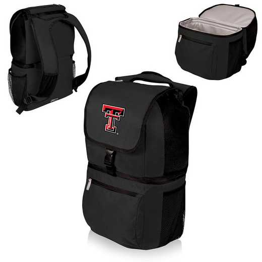 634-00-175-574-0: Texas Tech Red Raiders - Zuma Cooler Backpack (Black)