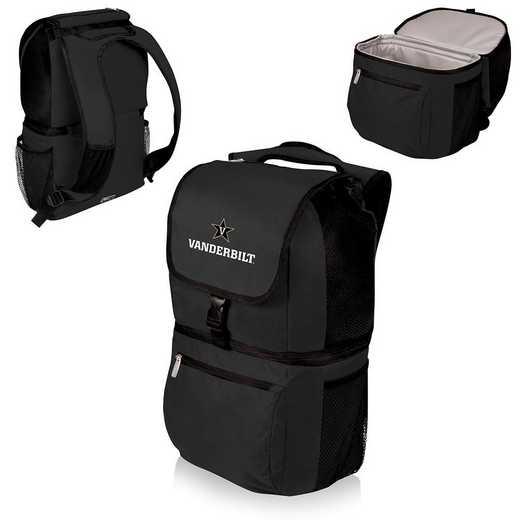 634-00-175-584-0: Vanderbilt Commodores - Zuma Cooler Backpack (Black)