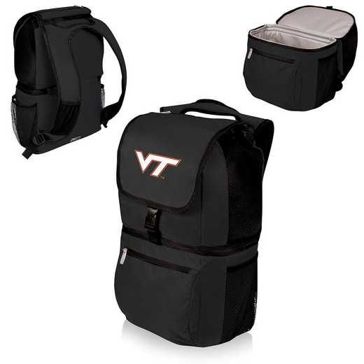 634-00-175-604-0: Virginia Tech Hokies - Zuma Cooler Backpack (Black)