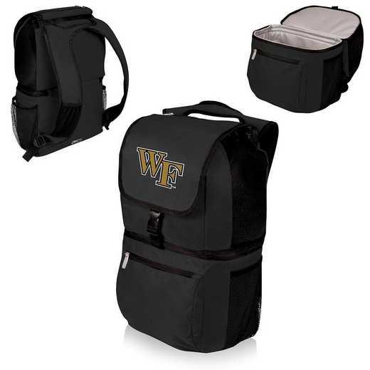 634-00-175-614-0: Wake Forest Demon Deacons - Zuma Cooler Backpack (Black)