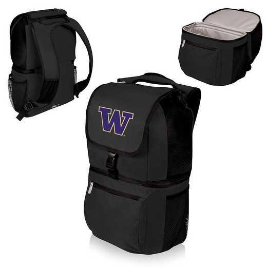 634-00-175-624-0: Washington Huskies - Zuma Cooler Backpack (Black)