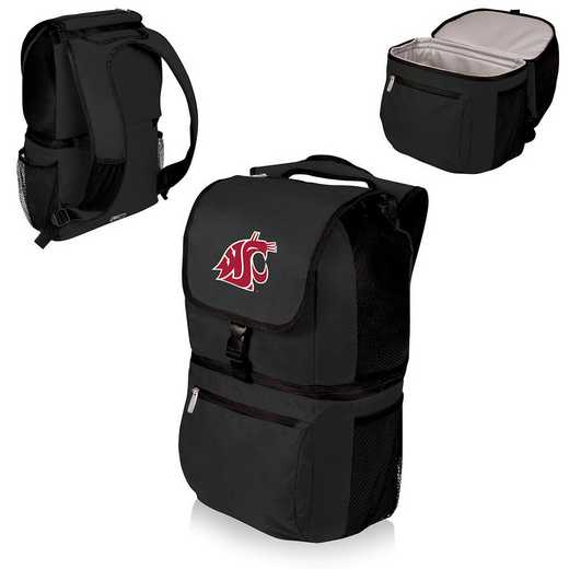 634-00-175-634-0: Washington State Cougars - Zuma Cooler Backpack (Black)